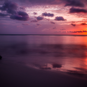 by Paul Scullion - Landscapes Sunsets & Sunrises ( water, colour, sand, waves, sunset, sea, rock, beach, sun,  )