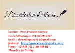 1.We Knows the Expectation of Bhopal Students from Dissertation Writing Services