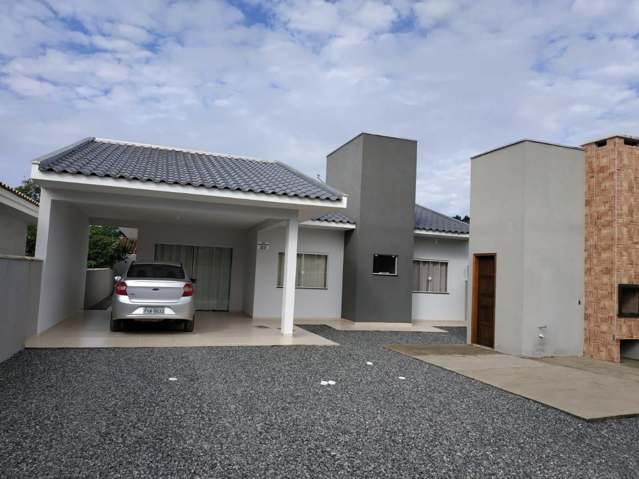 Casa com 3 dormitórios à venda, 140 m² por R$ 390.000,00 - Brasília - Itapoá/SC