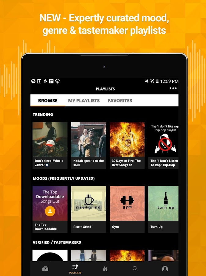 Audiomack Mixtapes & Music App Screenshot 10
