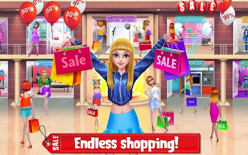 Shopping Mania - Black Friday Fashion Mall Game