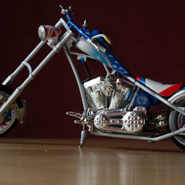 Miller Welder Bike  by Alex Dodds - Transportation Motorcycles