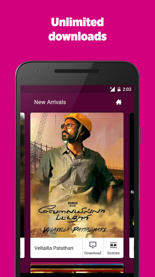 FastFilmz - HD Tamil Movies Screenshot 1