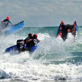 Race by Tomasz Budziak - Sports & Fitness Watersports ( watersports, sports, race, new zealand,  )
