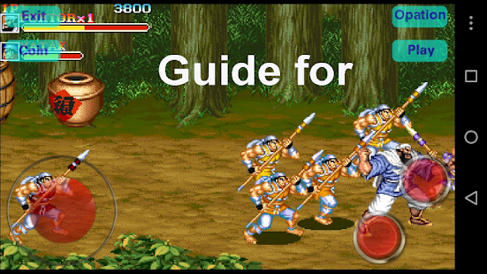 App Guide for Warriors of Fate APK for Kindle