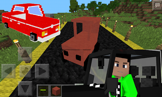 Car Mod Minecraft Pe 0.15.0 - screenshot