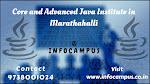 Core and advanced java institute in marathahalli