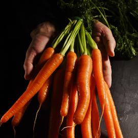 Carrots by Vineet Johri - Food & Drink Fruits & Vegetables ( vkumar, healthy, carrots, vitamina, vegetable, raw food )