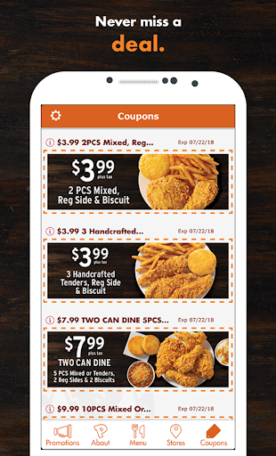 Popeyes® App For PC
