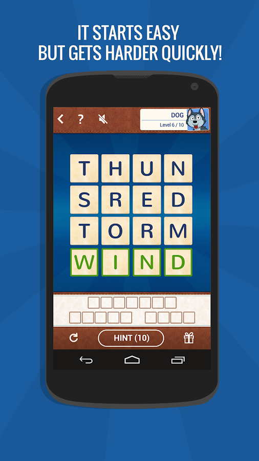 Word Smart: A Brain Game Screenshot 2