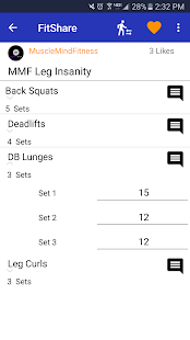 FitShare: Find New Workouts- screenshot thumbnail