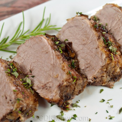 Balsamic Braised Pork Tenderloin