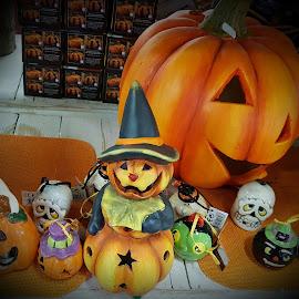 W Halloween  by Patrizia Emiliani - Public Holidays Halloween ( w, halloween )
