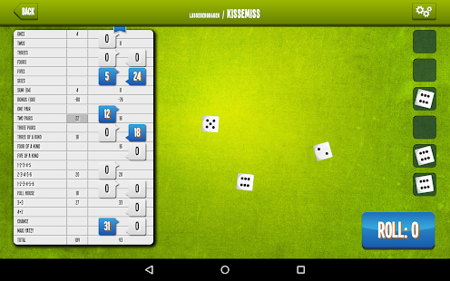 Yatzy Online apk screenshot