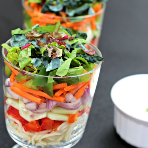 Layered Salads Made Simple