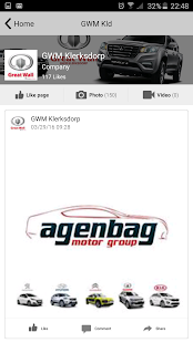 Agenbag Motor Group - screenshot