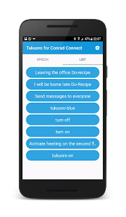 Tukuoro for Conrad Connect Screenshot