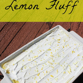 Lemon Fluff Dessert Pudding Recipes