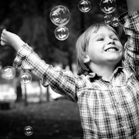 Smile by Diána Barócsi - Babies & Children Children Candids ( newbie, bubbles, smile,  )