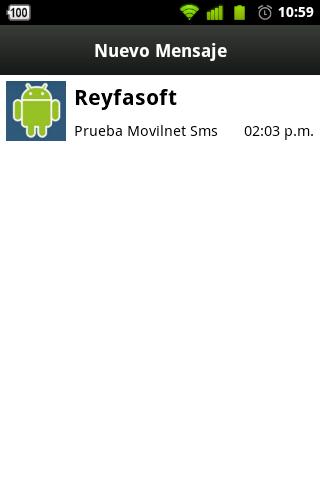 Movilnet Sms screenshot 1