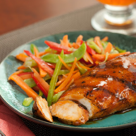 Honey Sriracha Glazed Chicken