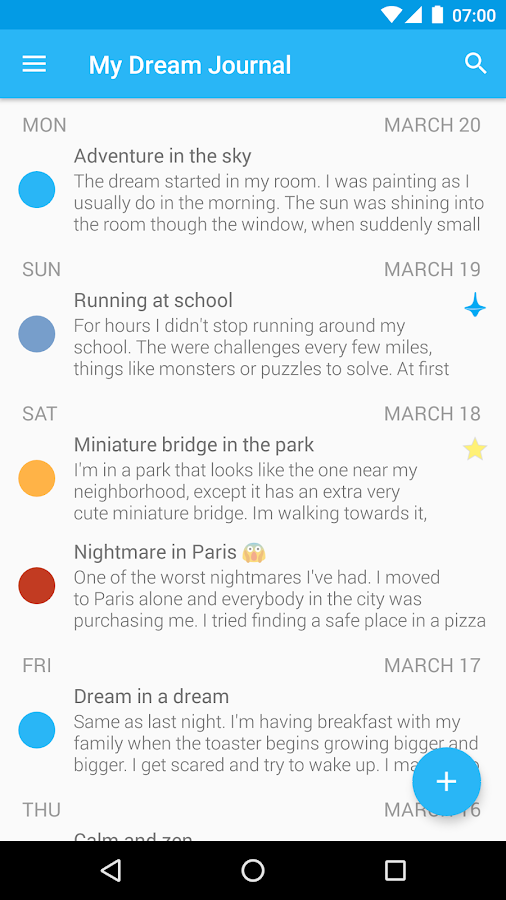 Lucidity - Lucid Dream Journal Screenshot