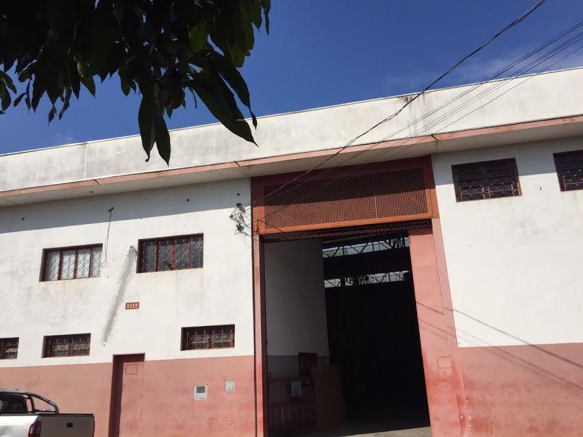 Galpão comercial à venda, Parque Industrial Avelino Alves Palma, Ribeirão Preto.