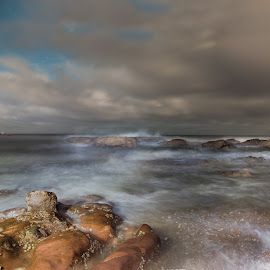 Abadour Beach by Jason Smith - Landscapes Beaches ( clouds, scotland, weather, ocean, beach, landscape )