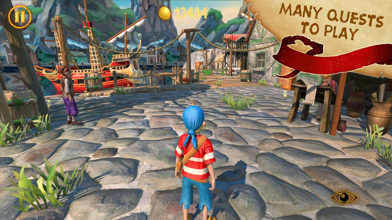 Captain Sabertooth Lama Rama Screenshot 0
