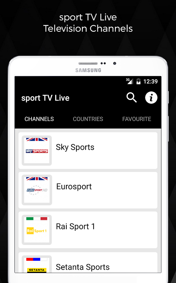 sport TV Live - Television Screenshot 5