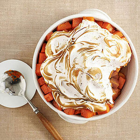 Meringue-Topped Sweet Potato Casserole