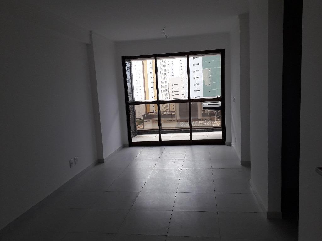 Apartamento com 2 dormitórios à venda, 66 m² por R$ 335.000 - Brisamar - João Pessoa/PB