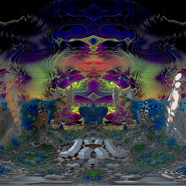 Rising Morphism by Rick Eskridge - Illustration Sci Fi & Fantasy ( jwildfire, mb3d, fractal, acdsee 19, twisted brush )