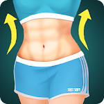 Abs Exercises - Six Pack Workout Icon