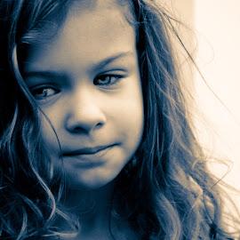 Maybe by Todd Wallarab - Babies & Children Children Candids ( child, smirk, girl, sassy, cute, hair, eyes )