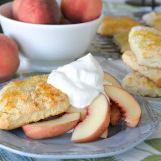 Fresh Peach Shortcake Recipes