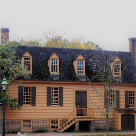 by Christopher Harris - Buildings & Architecture Public & Historical ( history, colonial williamsburg, architecture, house, historic )