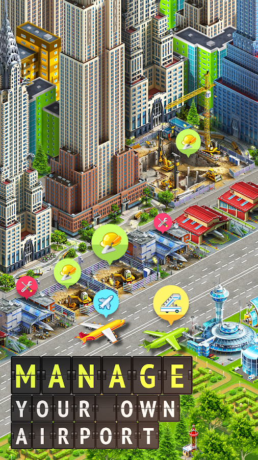 Airport City: Airline Tycoon ✈️ Screenshot 0