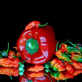 Hot... by Asif Bora - Food & Drink Ingredients