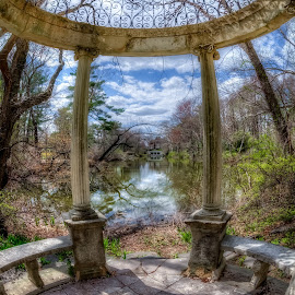 The Temple of Love by Linda Karlin - Buildings & Architecture Public & Historical ( long island, architecture, landscape )