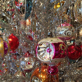 Vintage Christmas  by Keith Sutherland - Public Holidays Christmas ( cheers christmas decorations )