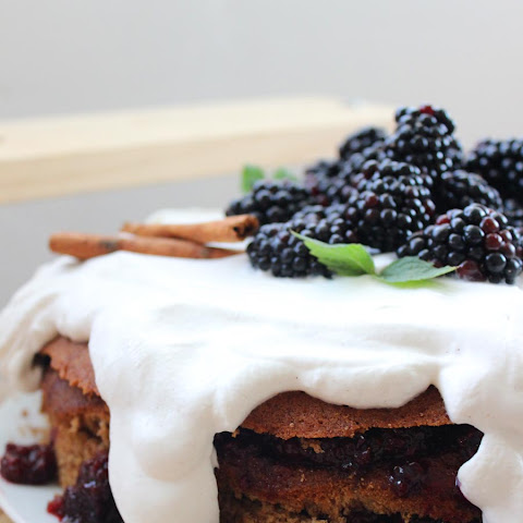 Blackberry Spice Cake