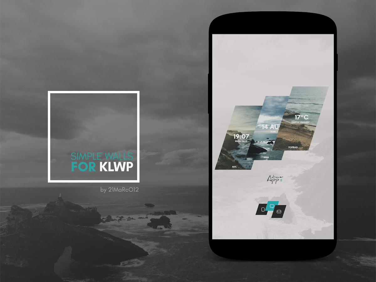 Simple Walls for KLWP Screenshot 5
