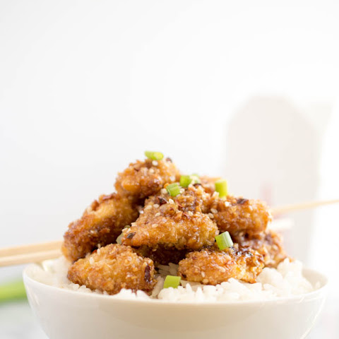 Honey Garlic Sesame Chicken