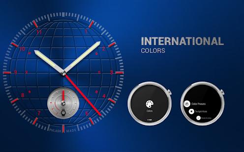 INTERNATIONAL - Uhr Gesicht android apps download