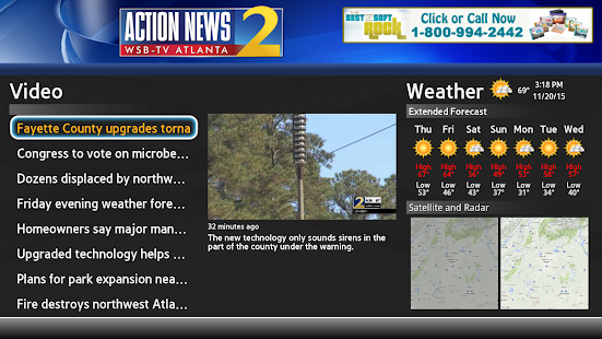 WSB-TV Channel 2 Action News - screenshot