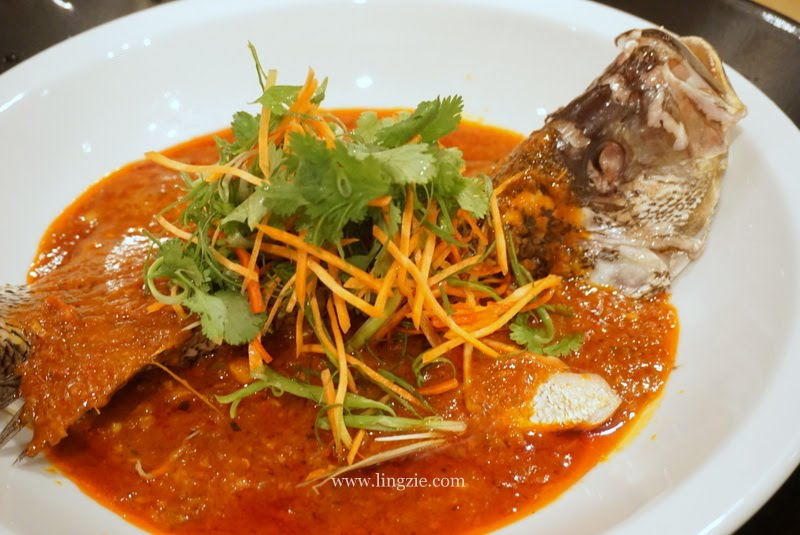 Steamed Fish with Nyonya Sauce @ Eastern & Oriental Hotel - Malaysia Food &  Restaurant Reviews