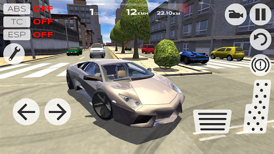 Extreme Car Driving Simulator- screenshot thumbnail
