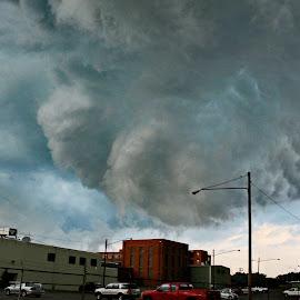 Storm Clouds by Tony Bendele - Landscapes Weather ( thunderstorms, thunderstorm, storms, storm )