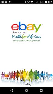 eBay + MallforAfrica - screenshot